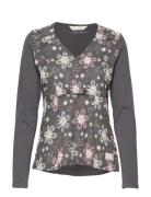 Wearing A Dream Top Langärmliges T-Shirt Grau ODD MOLLY