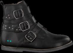 Schwarze Bunnies Jr Biker Boots Bobbi Bliksem