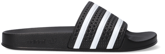 Schwarze Adidas Zehentrenner Adilette Men