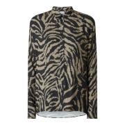 Bluse mit Animal-Print Modell 'Tilda'